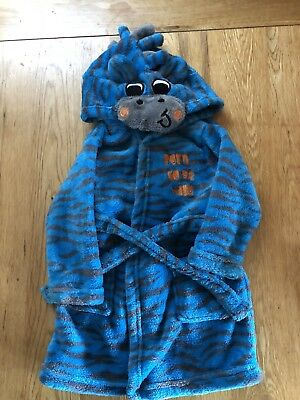 Boys Dressing Gown 9-12 Months