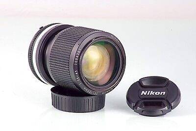 NIKKOR 3.5-4.5 35-105 35-105mm ZOOM NIKON FX DIGITAL Ais TESTED + ACCESORIOS