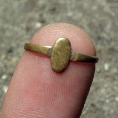 Ancient Celtic Bronze Child Ring - 50 Bc - Rare - Wearable