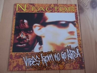 LP N-Factor Vibes from no go area,signiert Vinyl Schallplatte