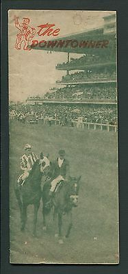 Mexico (City) Tourism Guide/Brochure THE DOWNTOWNER, October 12, 1946