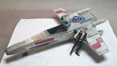 1995 Tonka STAR WARS X WING FIGHTER Power of the Force Electronic Toy