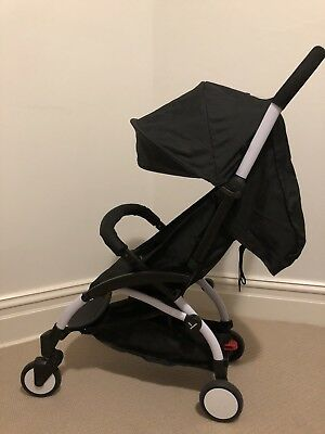 Portable Foldable Baby Travel Stroller Pram Lightweight Compact Carry-on Black