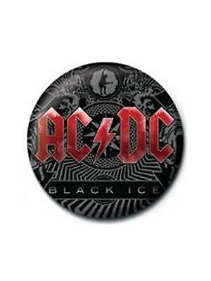 AC/DC Black Ice Badge - NEW & OFFICIAL
