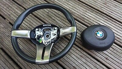 bmw z4 steering wheel and airbag fits 2003-2009 e85-e86