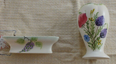 Radford China  Flower  Vase and Bowl
