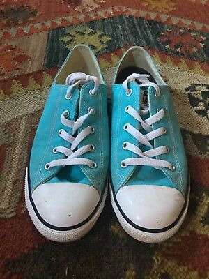 Chuck Taylor Coverse Turquoise Blue W10/M9