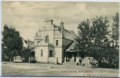 South Africa Worcester - Post Office old postcard