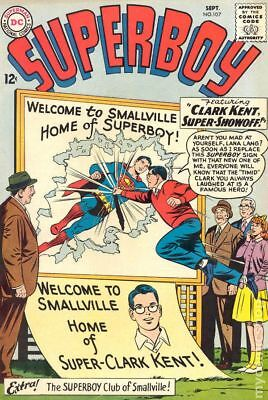Superboy (1st Series DC) #107 1963 VG 4.0 Stock Image
