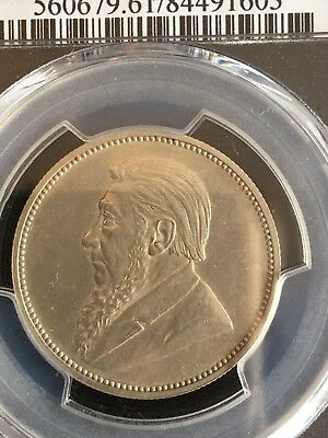 1892 South Africa Silver 2 Shillings PCGS Proof 61 **SUPER RARE MINTAGE 50-60**