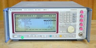 Rohde Schwarz SME03 Signal Generator 5khz-3GHz opt B1/2/5/8/11/12, Tested GOOD