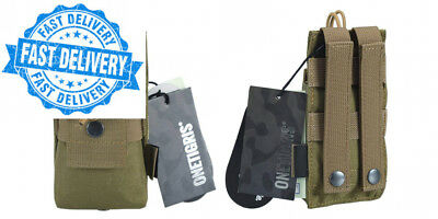 OneTigris Tactical MOLLE Short Radio Pouch for BaoFeng UV-5R BF-F8 UV-82 Carry