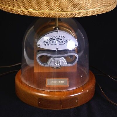 General Electric, Electric Meter Table Lamp