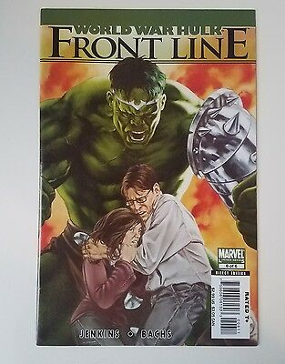 WORLD WAR HULK: FRONT LINE #6 of 6 (2007 Limited Series)  VF/NM