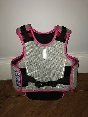 Girls Harry Hall Riding Body Protector Size C-M