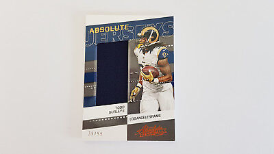 2017 Panini Todd Gurley II Jersey Patch - Los Angeles Rams