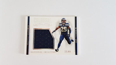 2017 National Treasures Colossal Earl Thomas Jersey Patch - Seattle Seahawks