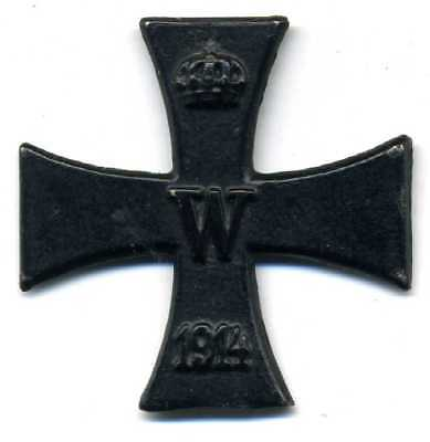 WW1 the core of the German iron cross 1914.magnetic.original.