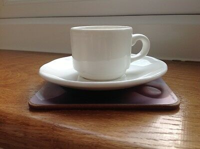 DUDSON FINE CHINA Espresso Coffee Cup And Saucer Set - £3.19 ...