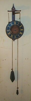 *Vintage - Hard to find - Swiss Made 'Buco' Wall Clock*