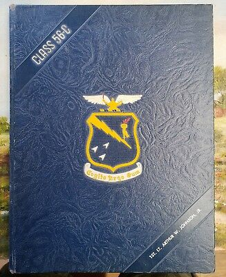 1956 US Air Force Squadron Officer School Maxwell AFB Yearbook