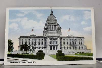 Rhode Island RI Providence State Capitol Postcard Old Vintage Card View Standard