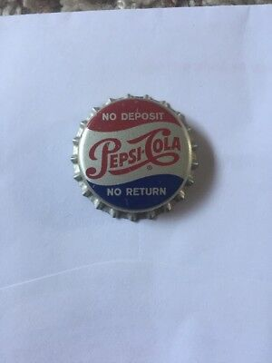 PEPSI COLA Soda Bottle Cap Unused Cork Crown