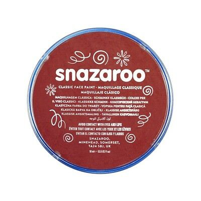 Snazaroo Face And Body Paint, 18ml - Ochre Yellow (individual Colour) - Paint