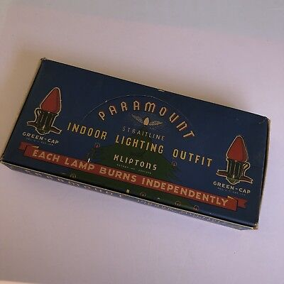 PARAMOUNT STRAITLINE 7 LIGHTS W Kliptons in Box
