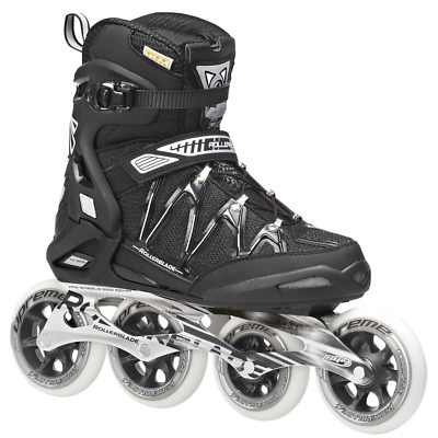 Rollerblade Igniter 100-Men's SZ 7US Black-BRAND NEW-very sharp looking-FAST