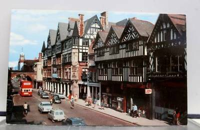 United Kingdom England Chester Eastgate Street Postcard Old Vintage Card View PC