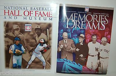 2003 Hall of Fame Yearbook & 2008 Memories and Dreams HOF magazine Carter Murray
