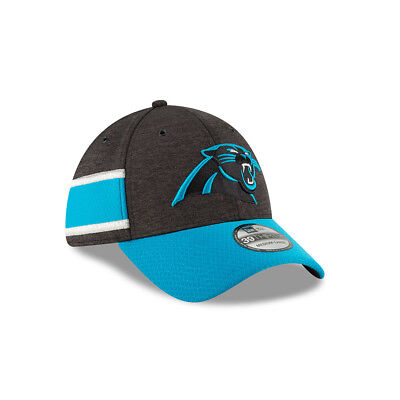New Era NFL CAROLINA PANTHERS Authentic 2018 Sideline 39THIRTY Stretch Fit Home