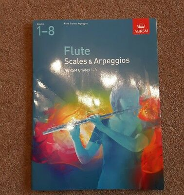 ABRSM flute scales and arpeggios grades 1 -8