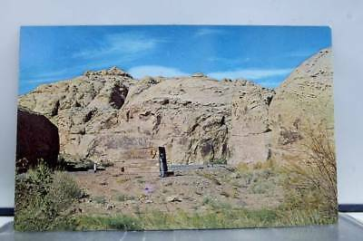 Utah UT Capitol Reef National Monument Entrance Portal Postcard Old Vintage Card