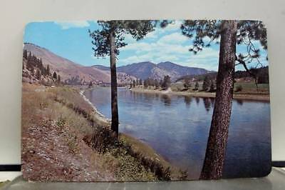Montana MT St Regis River Drive Interstate 90 Postcard Old Vintage Card View PC