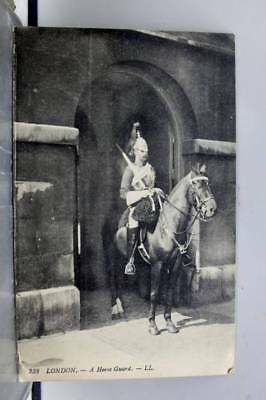 United Kingdom London England Horse Guard Postcard Old Vintage Card View Post PC