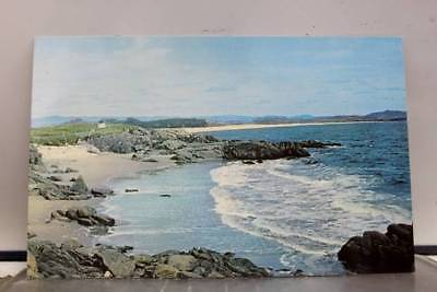 Canada Newfoundland Cape Ray Road Cove West Coast Postcard Old Vintage Card View