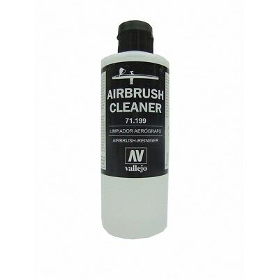 Vallejo Model Air 200ml Airbrush Cleaning Liquid -ml Cleaner Bottle Paint
