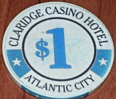 $1 4Th Edition Gaming Chip From The Claridge Casino Hotel In Atlantic City