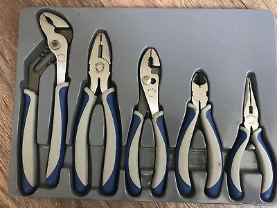 """As sold by Snap On. VAT Blue Point 8/"""" Slip Joint Pliers Incl"""