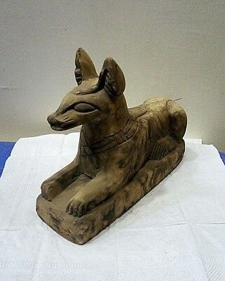 RARE ANCIENT EGYPTIAN ANTIQUE ANUBIS Statue Stone Ancient Antique 1751-1500 BC