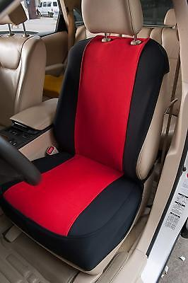 2 Jaybally SUV Seat Covers Waterproof Nonslip Seat Protector Airbag RED