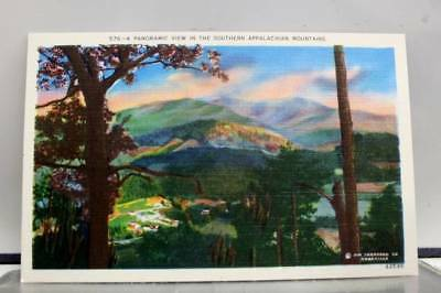 Scenic Appalachian Mountains Panoramic Postcard Old Vintage Card View Standard