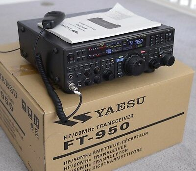 Yaesu FT-950 Ham Radio Transceiver with box and manual, excellent condition