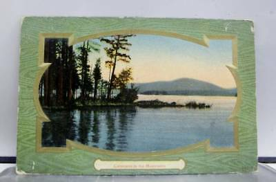 Scenic Mountains Calmness Postcard Old Vintage Card View Standard Souvenir Post