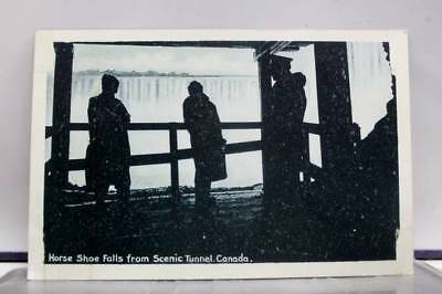 Canada Scenic Tunnel Horse Shoe Falls Postcard Old Vintage Card View Standard PC