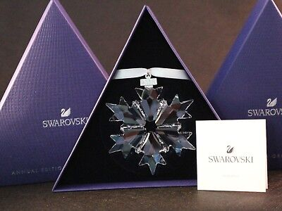 2018 Large Annual Edition Ornament Authentic Swarovski Crystal 5301575 $79.00 Us
