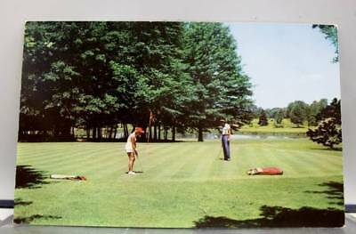 Ohio OH Avalon Golf Course Warren Postcard Old Vintage Card View Standard Post
