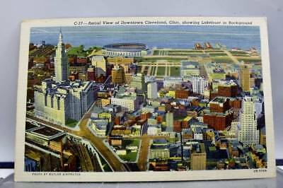 Ohio OH Cleveland Postcard Old Vintage Card View Standard Souvenir Postal Post